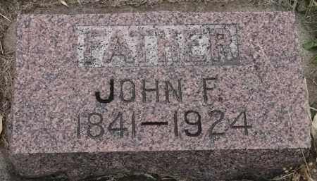 JOHNSON, JOHN F - Lincoln County, South Dakota | JOHN F JOHNSON - South Dakota Gravestone Photos
