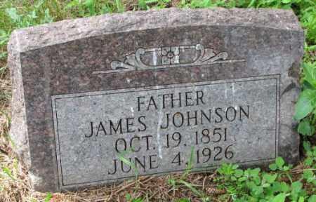 JOHNSON, JAMES - Lincoln County, South Dakota   JAMES JOHNSON - South Dakota Gravestone Photos