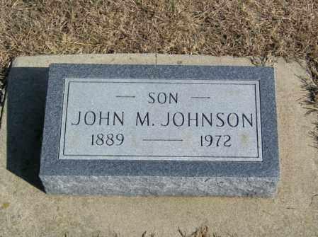 JOHNSON, JOHN M - Lincoln County, South Dakota | JOHN M JOHNSON - South Dakota Gravestone Photos