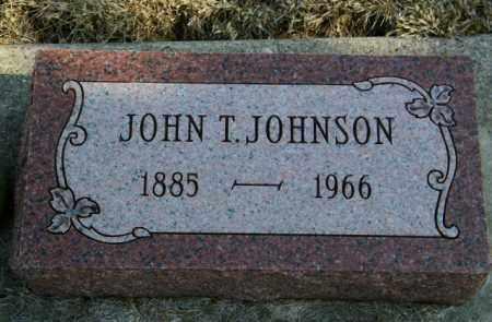 JOHNSON, JOHN T - Lincoln County, South Dakota | JOHN T JOHNSON - South Dakota Gravestone Photos
