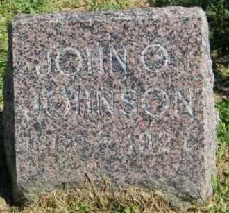 JOHNSON, JOHN O. - Lincoln County, South Dakota | JOHN O. JOHNSON - South Dakota Gravestone Photos