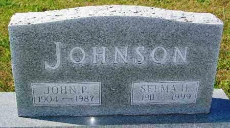 JOHNSON, SELMA H. - Lincoln County, South Dakota | SELMA H. JOHNSON - South Dakota Gravestone Photos