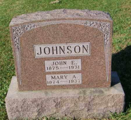JOHNSON, JOHN E. - Lincoln County, South Dakota | JOHN E. JOHNSON - South Dakota Gravestone Photos