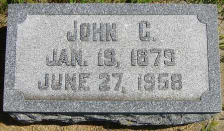 JOHNSON, JOHN C - Lincoln County, South Dakota | JOHN C JOHNSON - South Dakota Gravestone Photos