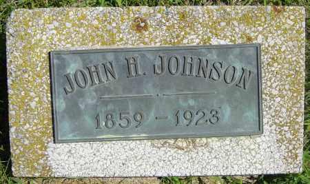 JOHNSON, JOHN H - Lincoln County, South Dakota | JOHN H JOHNSON - South Dakota Gravestone Photos