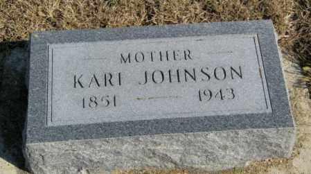 JOHNSON, KARI - Lincoln County, South Dakota | KARI JOHNSON - South Dakota Gravestone Photos