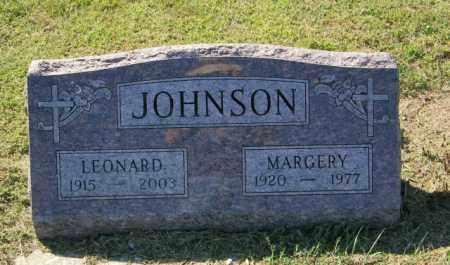 JOHNSON, MARGERY - Lincoln County, South Dakota | MARGERY JOHNSON - South Dakota Gravestone Photos