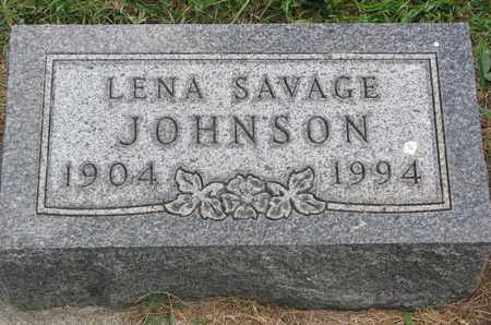 JOHNSON, LENA - Lincoln County, South Dakota | LENA JOHNSON - South Dakota Gravestone Photos