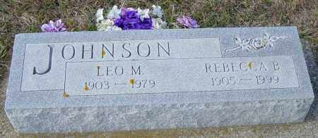 JOHNSON, LEO M - Lincoln County, South Dakota | LEO M JOHNSON - South Dakota Gravestone Photos