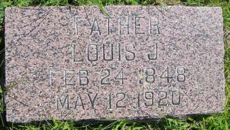 JOHNSON, LOUIS  J - Lincoln County, South Dakota | LOUIS  J JOHNSON - South Dakota Gravestone Photos