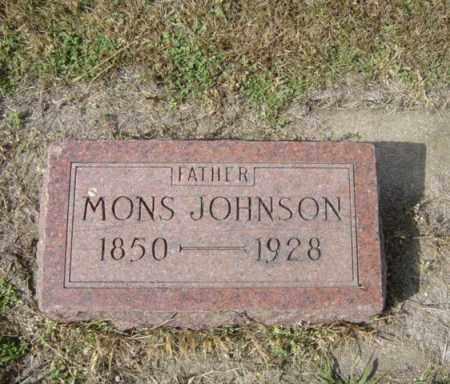 JOHNSON, MONS - Lincoln County, South Dakota | MONS JOHNSON - South Dakota Gravestone Photos
