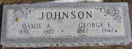 JOHNSON, GEORGE E. - Lincoln County, South Dakota | GEORGE E. JOHNSON - South Dakota Gravestone Photos