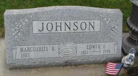 JOHNSON, EDWIN F. - Lincoln County, South Dakota | EDWIN F. JOHNSON - South Dakota Gravestone Photos