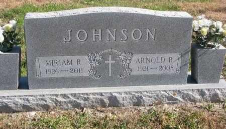 JOHNSON, ARNOLD B. - Lincoln County, South Dakota | ARNOLD B. JOHNSON - South Dakota Gravestone Photos