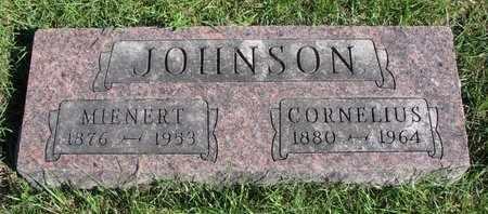 JOHNSON, MIENERT - Lincoln County, South Dakota | MIENERT JOHNSON - South Dakota Gravestone Photos