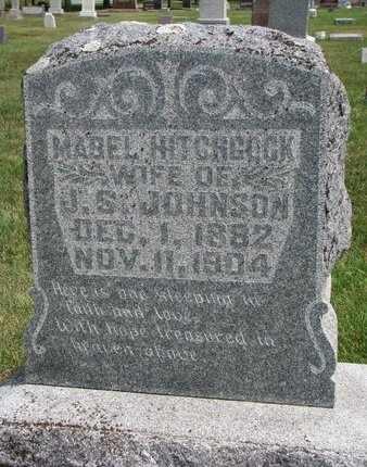 JOHNSON, MABEL - Lincoln County, South Dakota   MABEL JOHNSON - South Dakota Gravestone Photos
