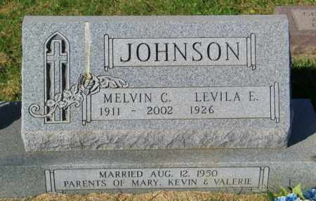 JOHNSON, MELVIN C. - Lincoln County, South Dakota | MELVIN C. JOHNSON - South Dakota Gravestone Photos