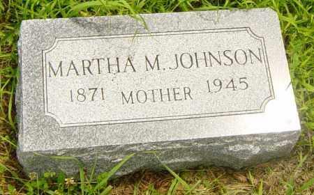 JOHNSON, MARTHA M - Lincoln County, South Dakota   MARTHA M JOHNSON - South Dakota Gravestone Photos