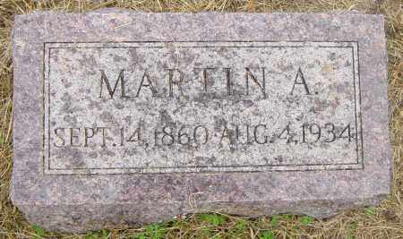 JOHNSON, MARTIN A - Lincoln County, South Dakota | MARTIN A JOHNSON - South Dakota Gravestone Photos