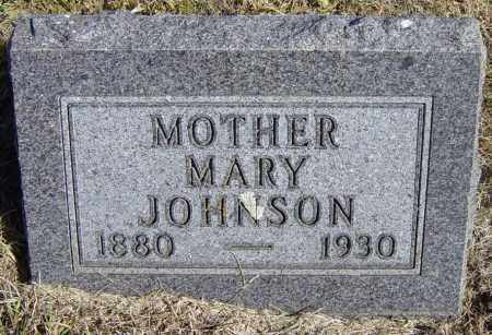 JOHNSON, MARY - Lincoln County, South Dakota | MARY JOHNSON - South Dakota Gravestone Photos