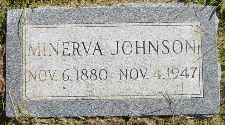 JOHNSON, MINERVA - Lincoln County, South Dakota | MINERVA JOHNSON - South Dakota Gravestone Photos