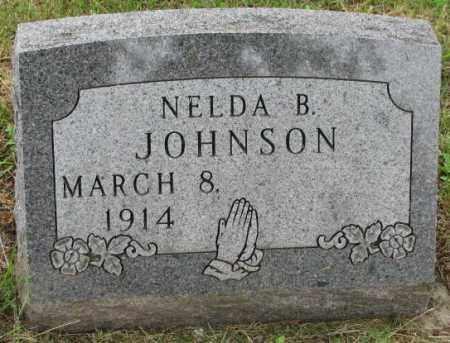 JOHNSON, NELDA B. - Lincoln County, South Dakota | NELDA B. JOHNSON - South Dakota Gravestone Photos
