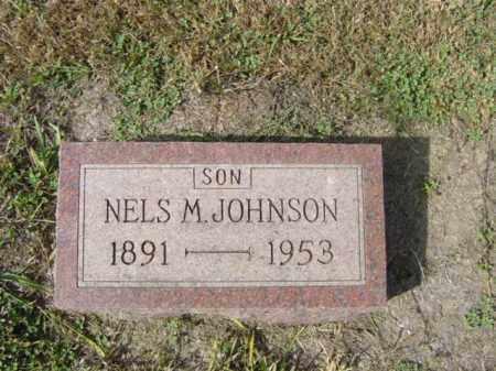 JOHNSON, NELS M - Lincoln County, South Dakota | NELS M JOHNSON - South Dakota Gravestone Photos