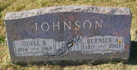 JOHNSON, ODELL B - Lincoln County, South Dakota | ODELL B JOHNSON - South Dakota Gravestone Photos