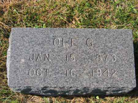 JOHNSON, OLE G - Lincoln County, South Dakota | OLE G JOHNSON - South Dakota Gravestone Photos