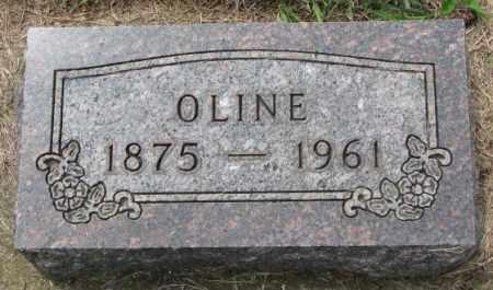 JOHNSON, OLINE - Lincoln County, South Dakota | OLINE JOHNSON - South Dakota Gravestone Photos