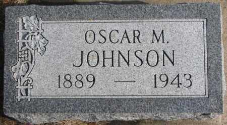 JOHNSON, OSCAR M. - Lincoln County, South Dakota | OSCAR M. JOHNSON - South Dakota Gravestone Photos