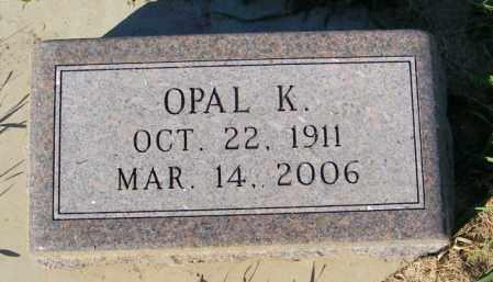 JOHNSON, OPAL K. - Lincoln County, South Dakota | OPAL K. JOHNSON - South Dakota Gravestone Photos