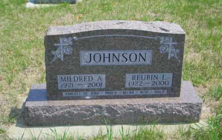 JOHNSON, MILDRED A - Lincoln County, South Dakota | MILDRED A JOHNSON - South Dakota Gravestone Photos