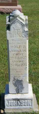 JOHNSON, ROLF G - Lincoln County, South Dakota | ROLF G JOHNSON - South Dakota Gravestone Photos