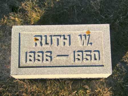 JOHNSON, RUTH W - Lincoln County, South Dakota | RUTH W JOHNSON - South Dakota Gravestone Photos