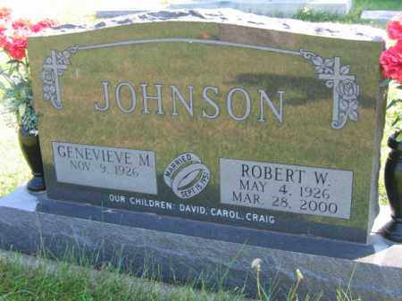 JOHNSON, GENEVIEVE M - Lincoln County, South Dakota | GENEVIEVE M JOHNSON - South Dakota Gravestone Photos