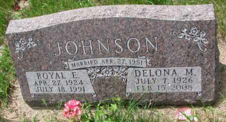 JOHNSON, ROYAL E. - Lincoln County, South Dakota | ROYAL E. JOHNSON - South Dakota Gravestone Photos