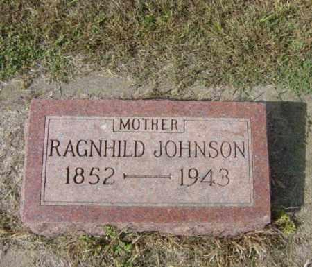 JOHNSON, RAGNHILD - Lincoln County, South Dakota | RAGNHILD JOHNSON - South Dakota Gravestone Photos