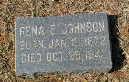 JOHNSON, RENA E - Lincoln County, South Dakota   RENA E JOHNSON - South Dakota Gravestone Photos