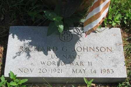 JOHNSON, RICHARD G. - Lincoln County, South Dakota | RICHARD G. JOHNSON - South Dakota Gravestone Photos