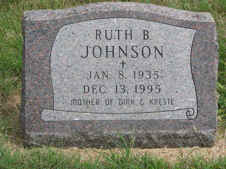 JOHNSON, RUTH B. - Lincoln County, South Dakota | RUTH B. JOHNSON - South Dakota Gravestone Photos