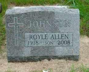 JOHNSON, ROYAL ALLEN - Lincoln County, South Dakota | ROYAL ALLEN JOHNSON - South Dakota Gravestone Photos