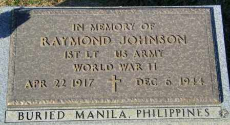 JOHNSON, RAYMOND - Lincoln County, South Dakota | RAYMOND JOHNSON - South Dakota Gravestone Photos
