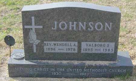JOHNSON, REV WENDELL A - Lincoln County, South Dakota | REV WENDELL A JOHNSON - South Dakota Gravestone Photos