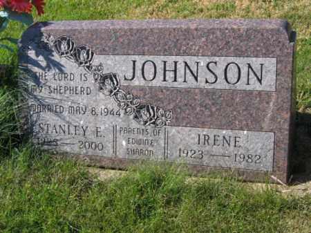 JOHNSON, STANLEY E - Lincoln County, South Dakota | STANLEY E JOHNSON - South Dakota Gravestone Photos