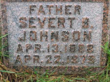 JOHNSON, SEVERT BERTENIS - Lincoln County, South Dakota | SEVERT BERTENIS JOHNSON - South Dakota Gravestone Photos