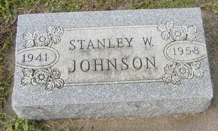 JOHNSON, STANLEY W - Lincoln County, South Dakota | STANLEY W JOHNSON - South Dakota Gravestone Photos