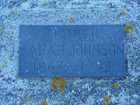 JOHNSON, SARAH - Lincoln County, South Dakota | SARAH JOHNSON - South Dakota Gravestone Photos