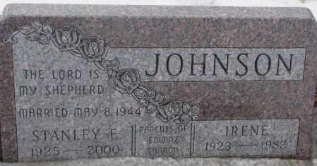 JOHNSON, IRENE - Lincoln County, South Dakota | IRENE JOHNSON - South Dakota Gravestone Photos