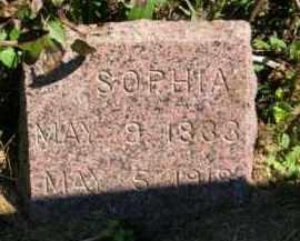 JOHNSON, SOPHIA - Lincoln County, South Dakota   SOPHIA JOHNSON - South Dakota Gravestone Photos